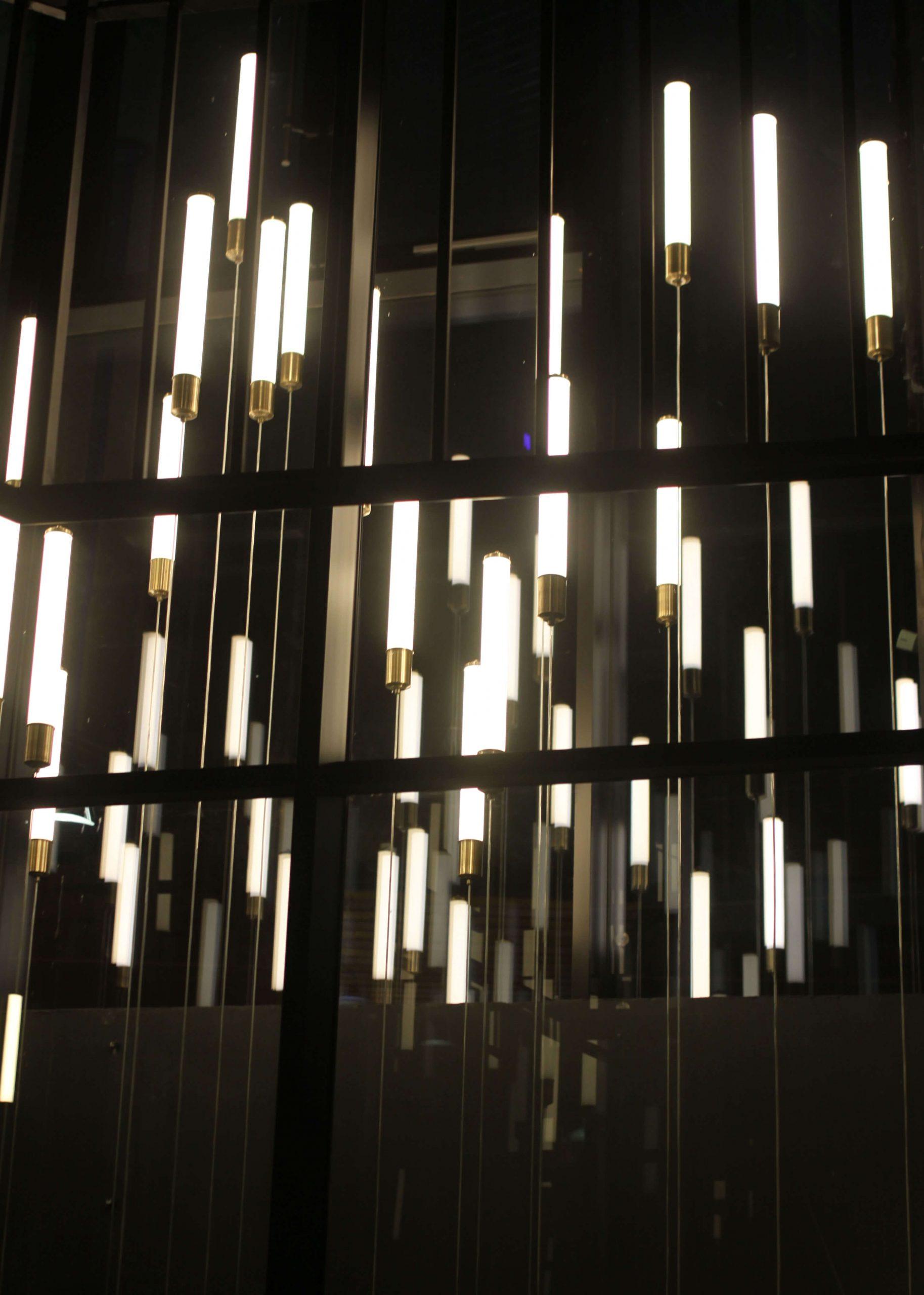 Светильники светодиодные трубы ресторан Humster