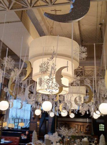 Светильник трехъярусный ресторан Дурдин