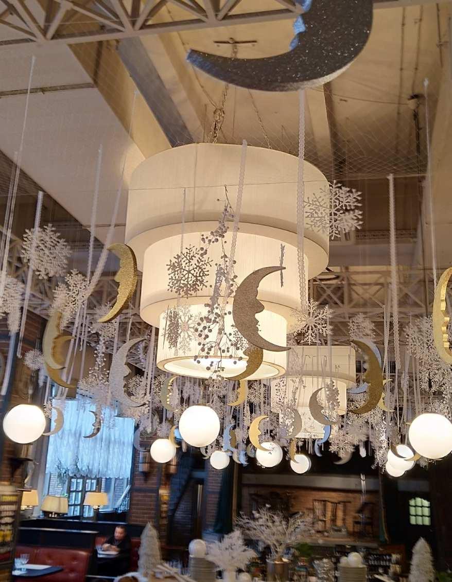 svetilnik trechyarusniy restoran durdin