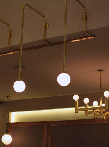 Светильники-шары гостинница Редиссон
