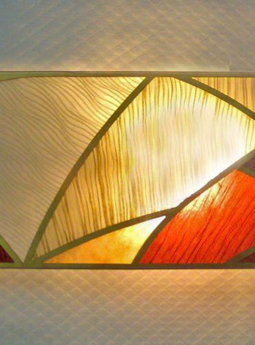 Абажур-мозаика