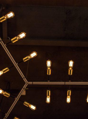 Шестигранный светодиодный светильник